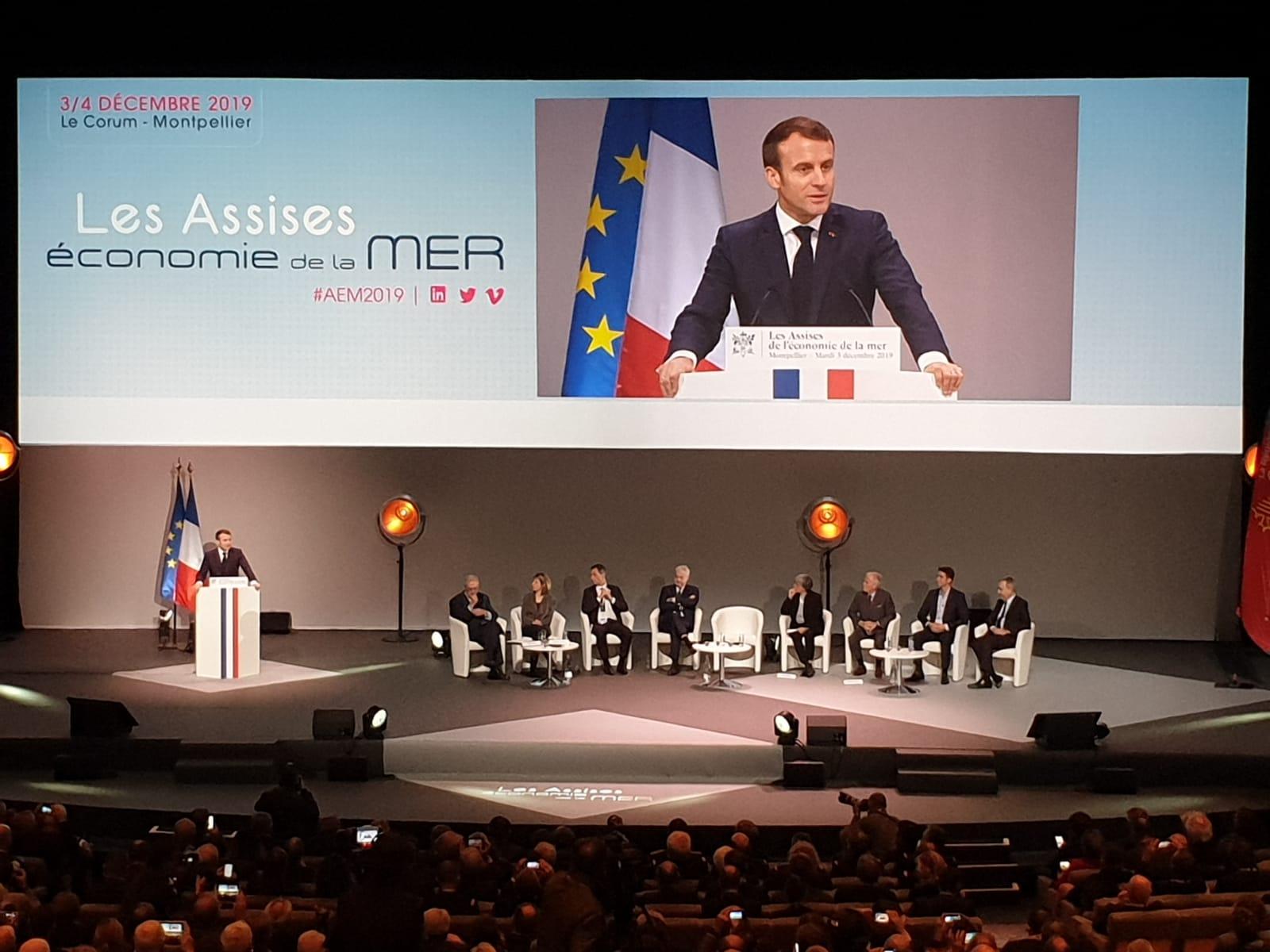 Assise - Discours Président E.Macron