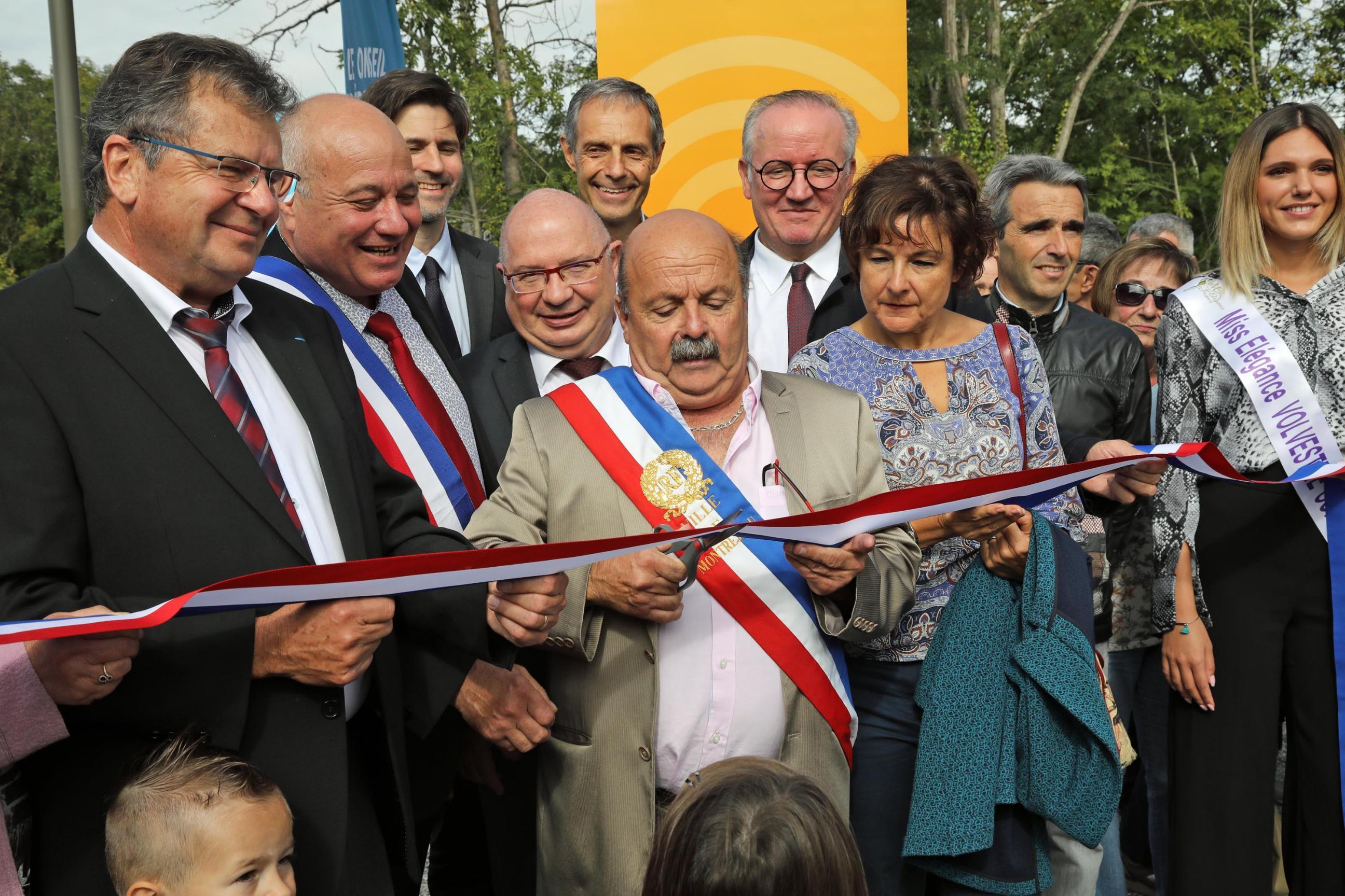 Inauguration plateforme 2