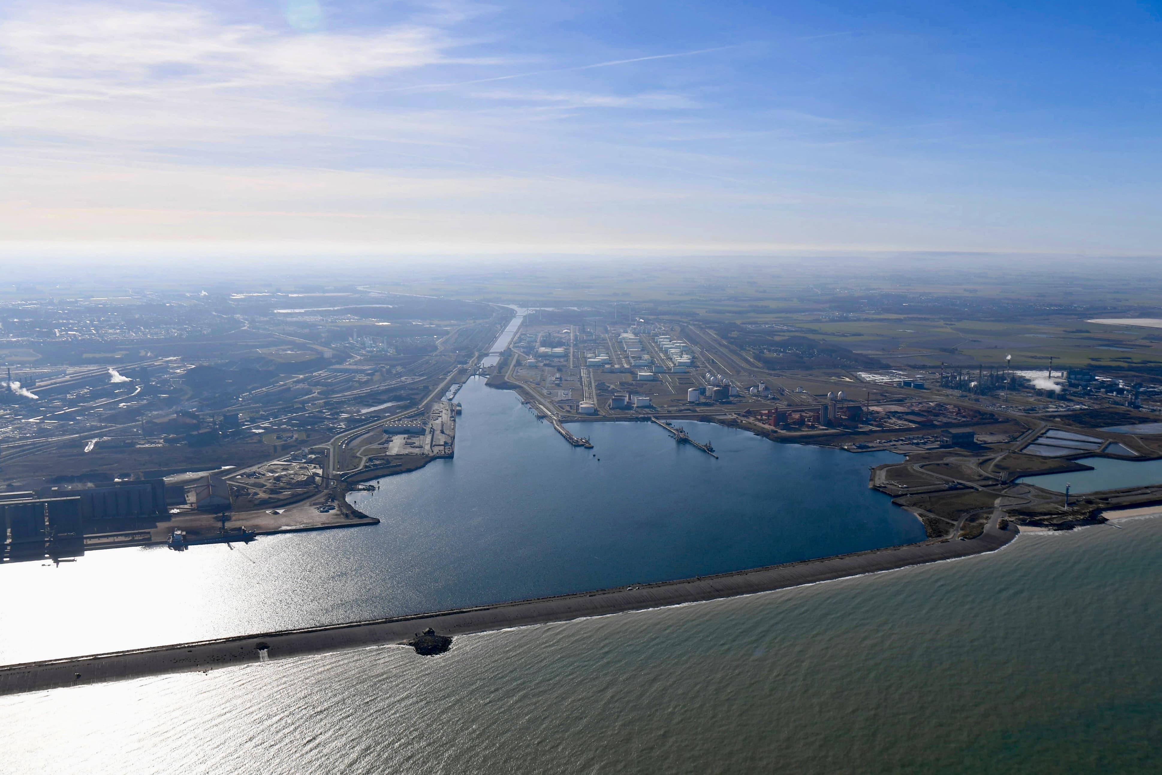 vue Aerienne Dunkerque
