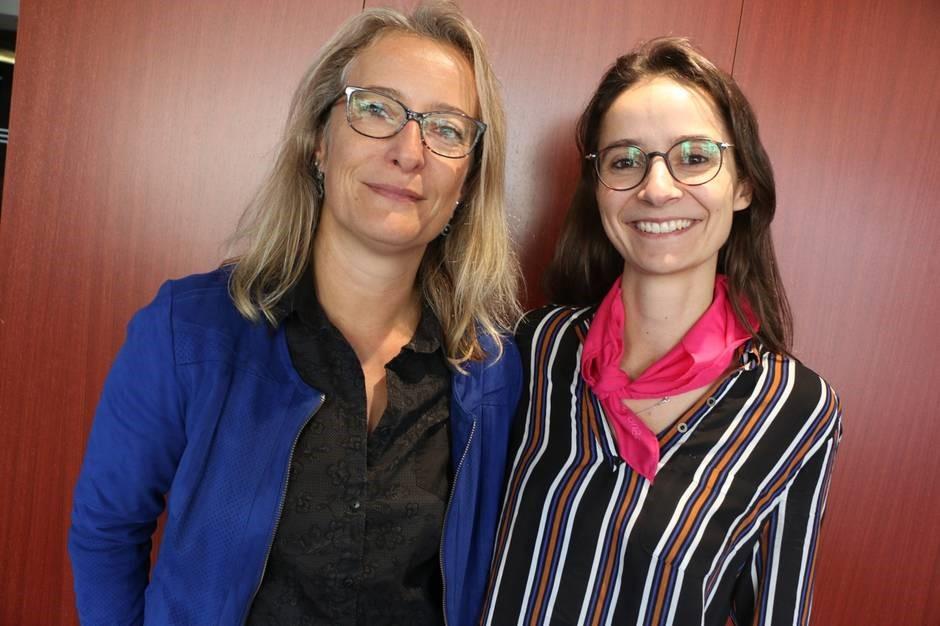 Nathalie et Segolene - managers chez RTE
