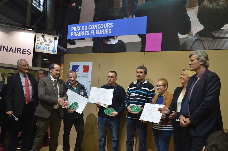 Lauréats concours prairies fleuries 2017