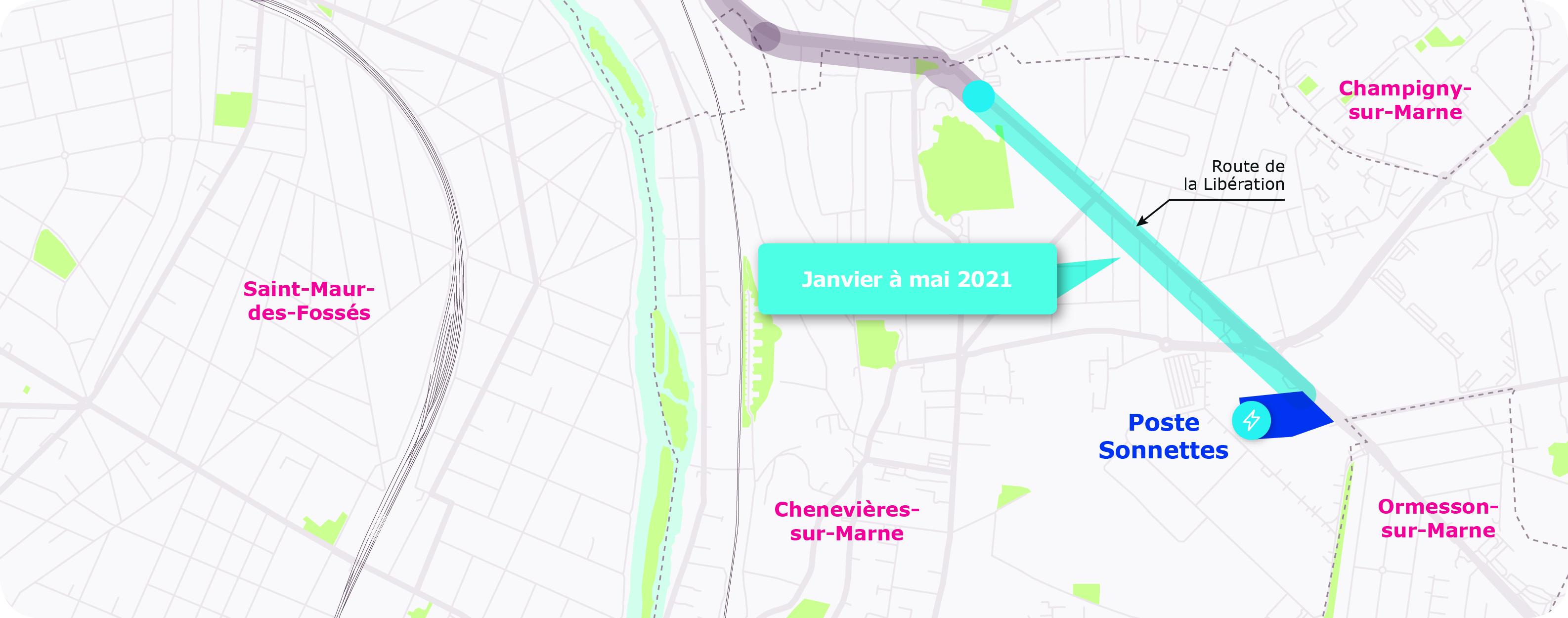 Saint-Maur étape 2