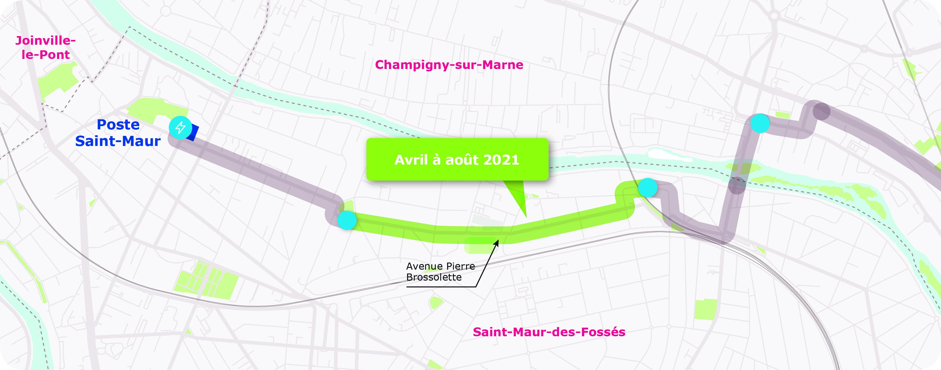 Saint-Maur étape 3