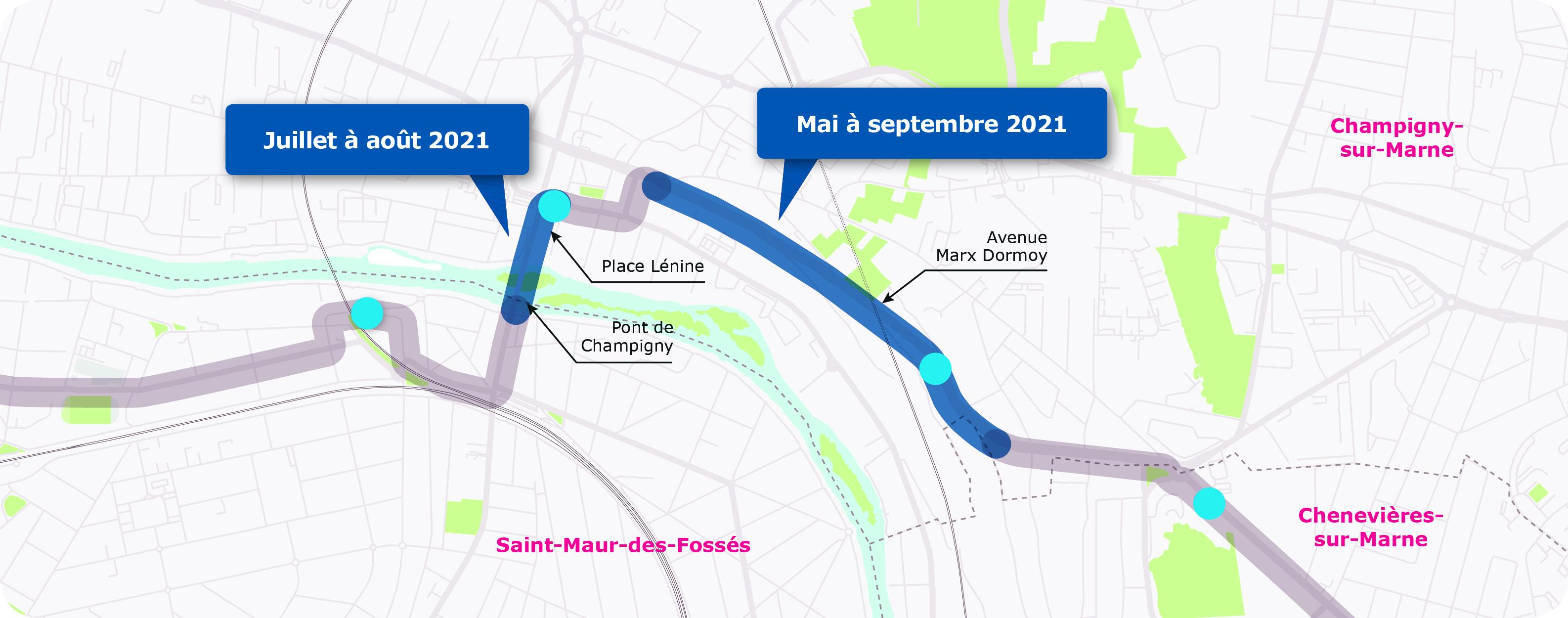 Saint-Maur étape 4