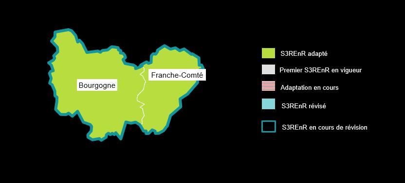 carte bourgogne franche comté