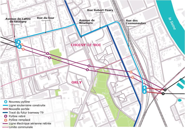 Plan infographie Choisy Le Roi