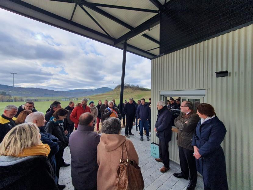 Inauguration des vestiaires rénovés du stade communal de Rosières 2