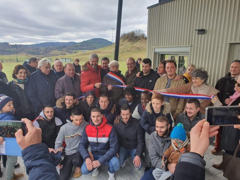 Inauguration des vestiaires rénovés du stade communal de Rosières 3