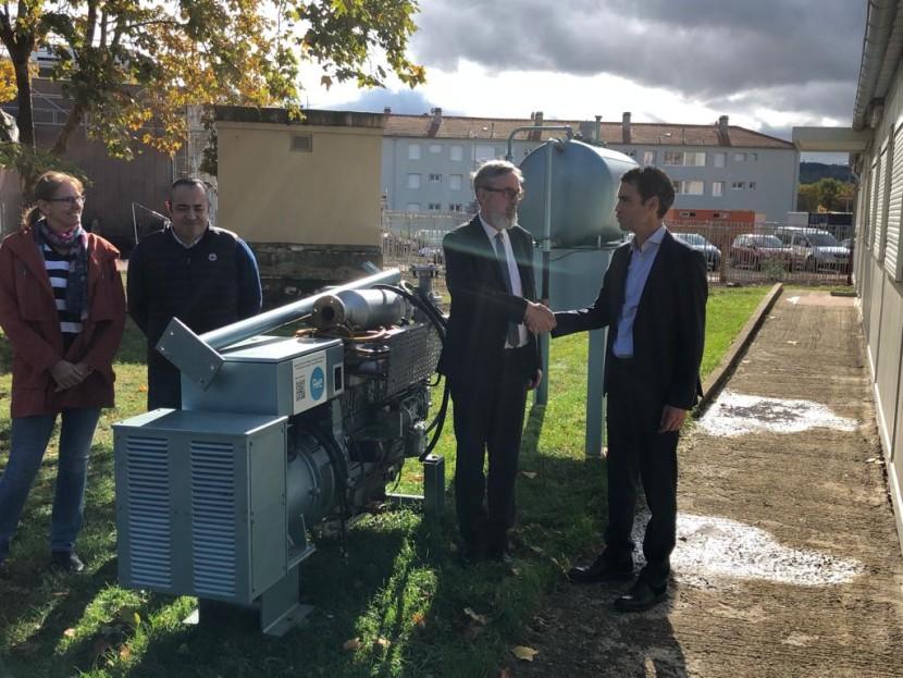 Don d'un groupe électrogène - Lycée Charles et Adrien Dupuy du Puy En Velay
