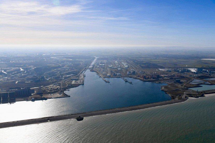 Vue Aérienne Dunkerque