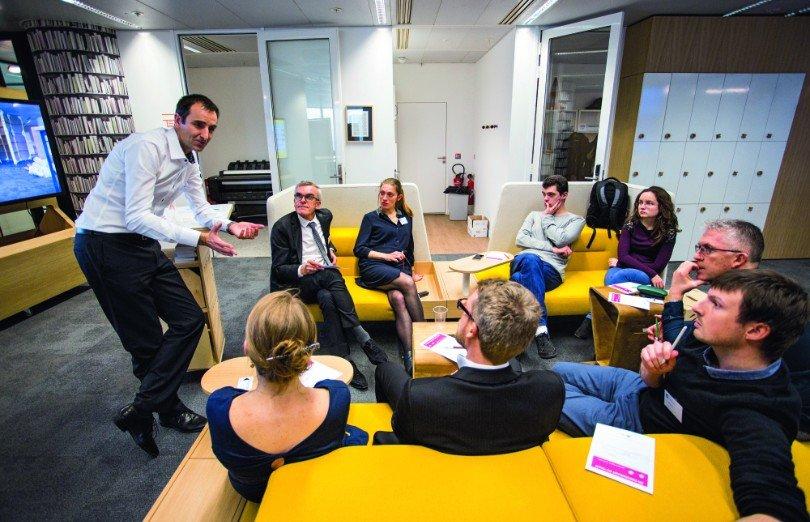 Equipe RTE en réunion