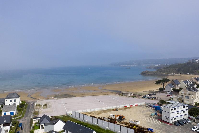 Restitution plage de Caroual - Erquy