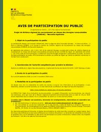 S3REnR Nouvelle-Aquitaine – Avis de participation du public.pdf thumbnail