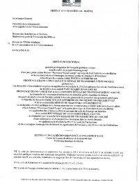 Arrété préfectoral de prolongation de l'enquête publique.pdf thumbnail