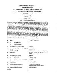 Conditions définitives (final terms) - émission obligataire de RTE 2010 - serie 5 tranche 1.pdf thumbnail