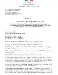 Arrêté Préfectoral pour la Déclaration d'Utilité publique.pdf thumbnail