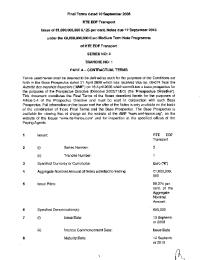 Conditions définitives relatives à l'émission obligataire de RTE, 2008 (final terms dated 10 septembre 2008) - serie 3 tranche 1.pdf thumbnail
