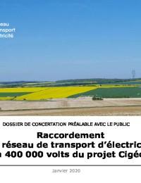 Raccordement au réseau de transport d'électricité à 400000 volts du projet Cigéo -.pdf thumbnail